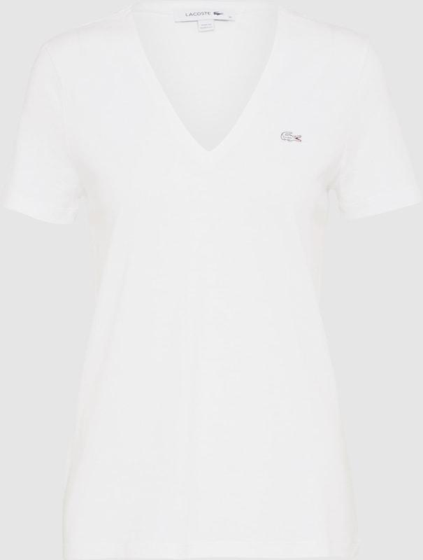 LACOSTE T-Shirt mit Label-Applikation