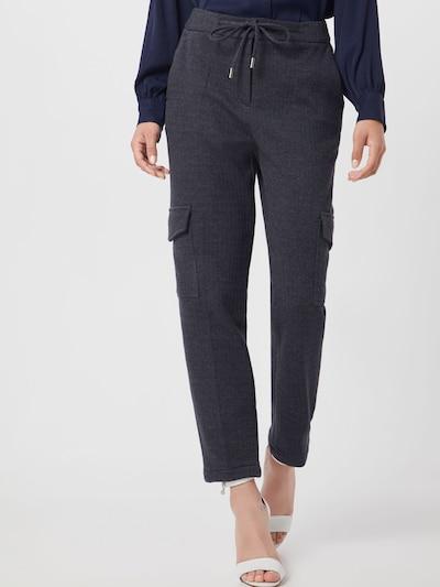 OPUS Spodnie w kant 'Milda SP' w kolorze nakrapiany szarym: Widok z przodu