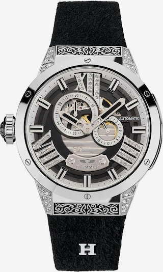 HAEMMER Analog Watch in Black / Silver, Item view
