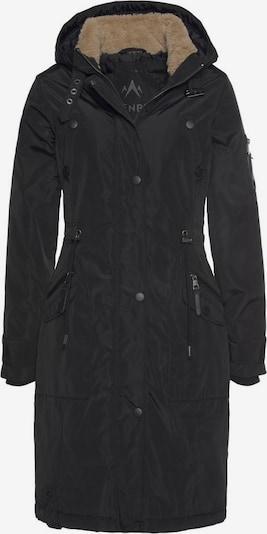 ALPENBLITZ Wintermantel 'Vancouver' in schwarz, Produktansicht