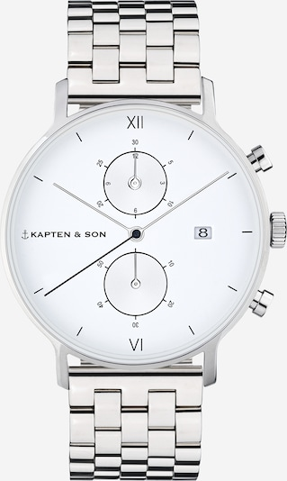 Kapten & Son Analog watch in silver, Item view