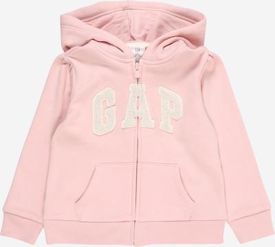 GAP Veste de survêtement en rose / blanc, Vue avec produit