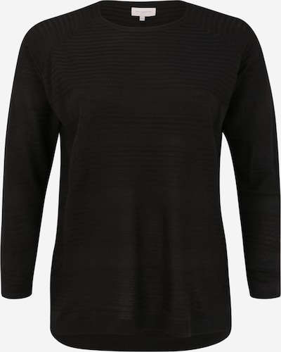ONLY Carmakoma Pullover 'CARAIRPLAIN' in schwarz, Produktansicht
