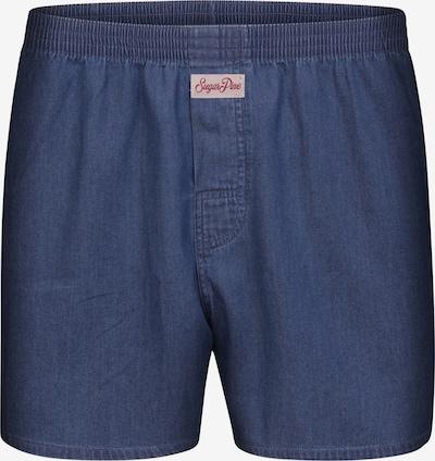 Sugar Pine Boxershorts 'Jeans' in de kleur Blauw denim, Productweergave