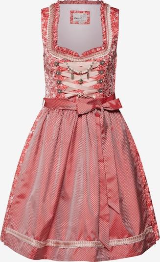 Rochițe tiroleze 'Grada' MARJO pe roșu / alb, Vizualizare produs