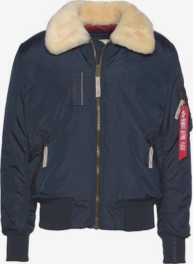 ALPHA INDUSTRIES Winterjas 'Injector III' in de kleur Navy, Productweergave