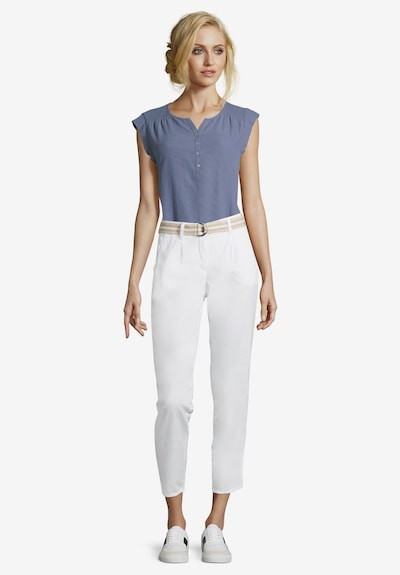 Betty & Co Chinohose in weiß, Modelansicht