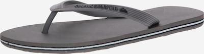 QUIKSILVER Séparateur d'orteils 'MOLOKAI' en gris, Vue avec produit