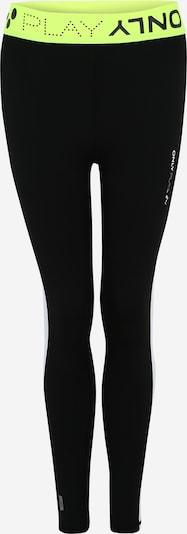 ONLY PLAY Sporthose in neongelb / schwarz, Produktansicht