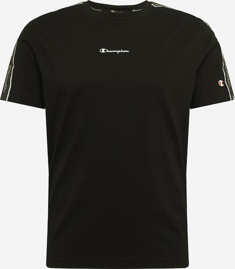 Champion Authentic Athletic Apparel Shirt in schwarz / weiß, Produktansicht