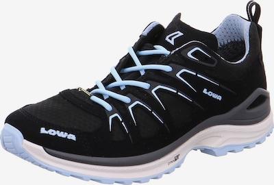 LOWA Schnürschuhe in hellblau / schwarz, Produktansicht