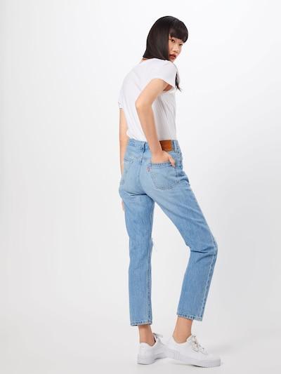 LEVI'S Jean '501® CROP' en bleu denim: Vue de dos