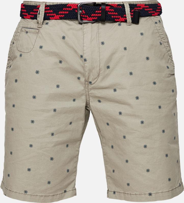 'plek Shorts Loose' Label S Hellbeige oliver Taubenblau Red qwvUg