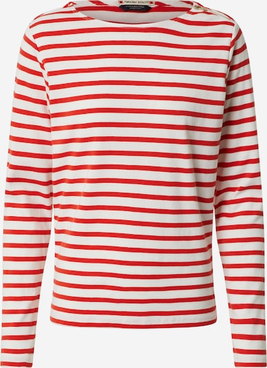 SCOTCH & SODA T-shirt en rouge / blanc: Vue de face