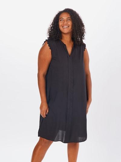 ONLY Carmakoma Kleid 'MUMI' in schwarz, Modelansicht
