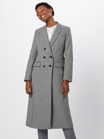 Banana Republic Prechodný kabát - čierna / biela, Model/-ka