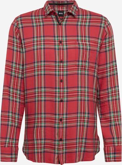 BOSS Koszula 'Magneton' w kolorze niebieski / czerwonym, Podgląd produktu