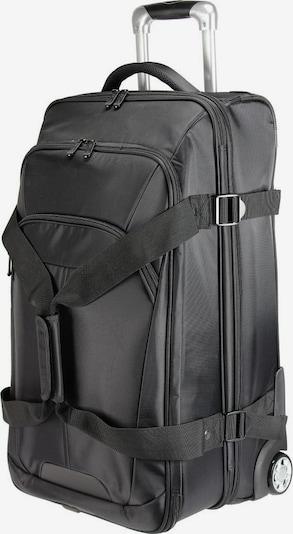 Dermata Reisetasche mit Rollen in schwarz, Produktansicht