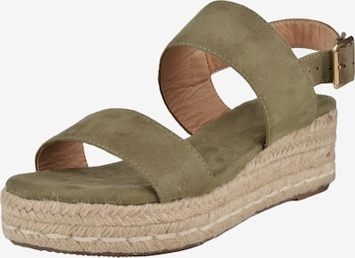 ABOUT YOU Riemensandalen 'Lynn' in khaki, Produktansicht