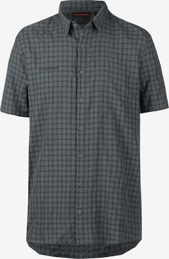 MAMMUT Athletic Button Up Shirt 'Lenni' in Anthracite / Black, Item view