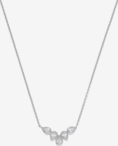 C-Collection Halskette in silber / weiß, Produktansicht