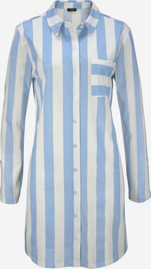 VIVANCE Spalna srajca 'Dreams' | svetlo modra / bela barva, Prikaz izdelka