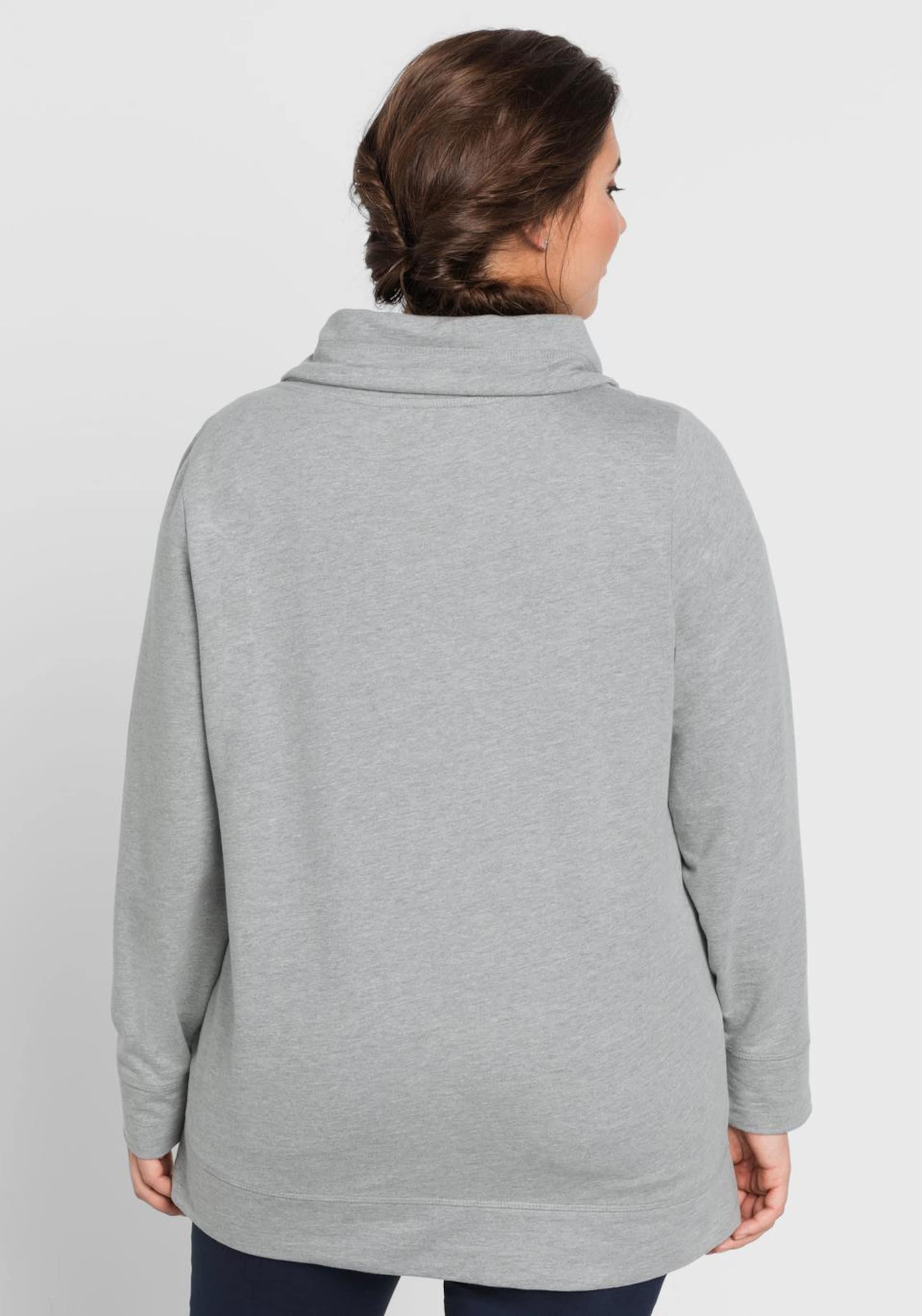 Grau In Sheego Sweatshirt In Sweatshirt Sweatshirt Grau Sheego Sheego TOXZuwPki