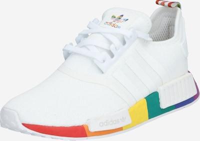 ADIDAS ORIGINALS Sneaker 'NMD_R1 PRIDE' in mischfarben / weiß: Frontalansicht