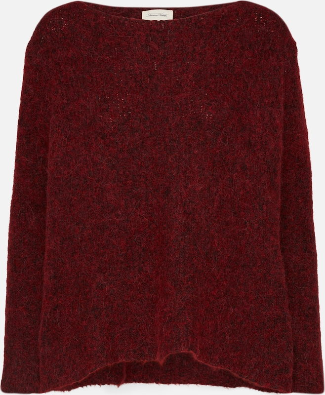 American Vintage American Weinrot Pullover Vintage q71ExXwc