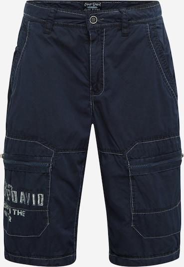 Laisvo stiliaus kelnės iš CAMP DAVID , spalva - ultramarino mėlyna (skaidri), Prekių apžvalga