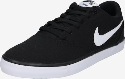 Nike SB Buty sportowe 'Check Solar' w kolorze czarny / białym, Podgląd produktu