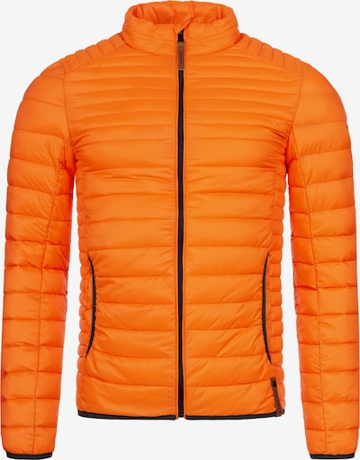 INDICODE JEANS Steppjacke 'Islington' in orange, Produktansicht