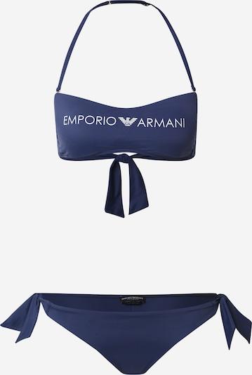 Emporio Armani Bikini en bleu foncé, Vue avec produit