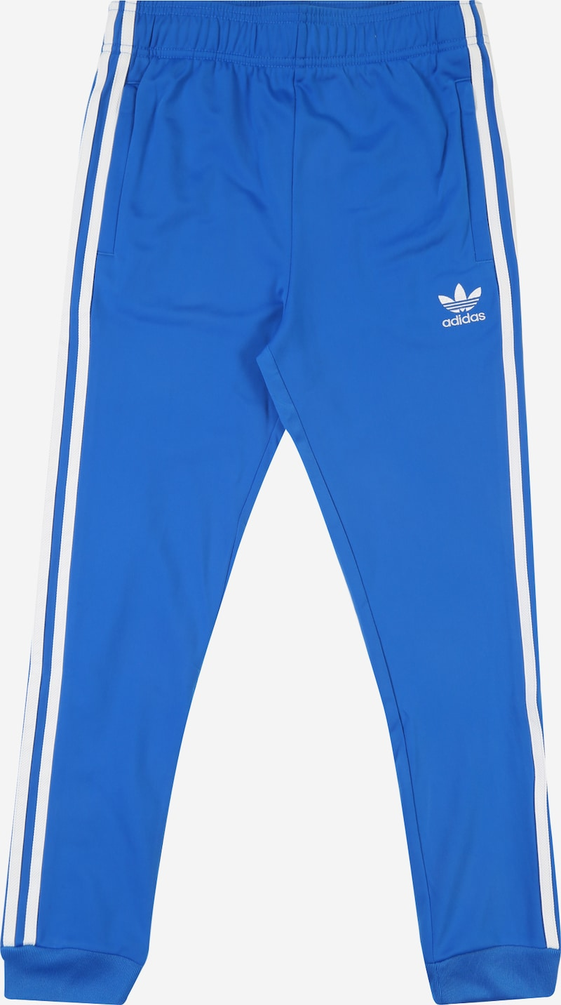 ADIDAS ORIGINALS Broek 'SUPERSTAR' in Blauw | ABOUT YOU