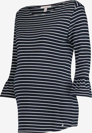 Esprit Maternity Pullover in nachtblau / weiß, Produktansicht