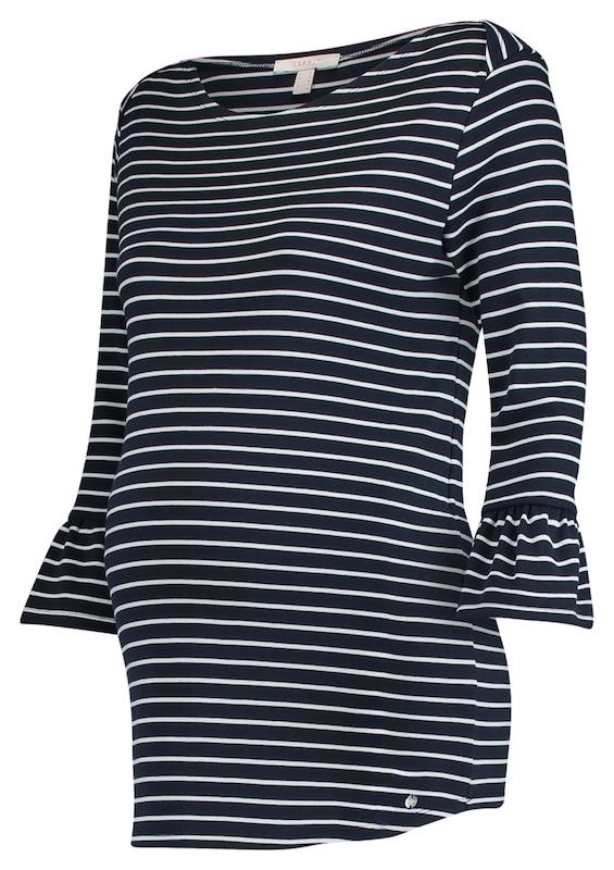 Esprit Maternity Umstands Pullover Ringelshirt