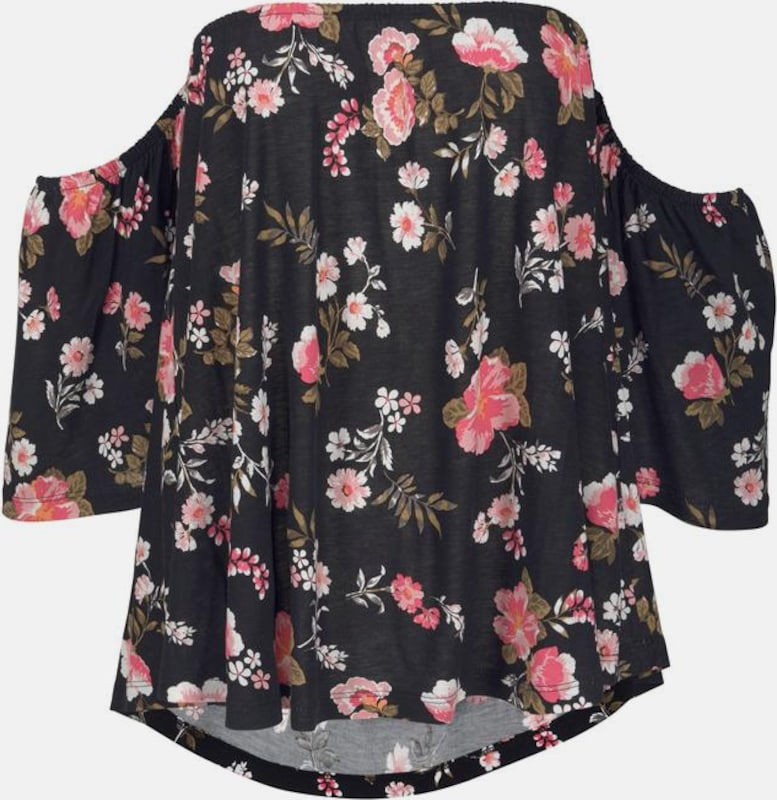 Lascana Schwarz Rosa Shirt Rosa Schwarz Lascana Rosa Lascana Shirt Rosa Lascana Shirt Schwarz Shirt Hw6FqH0