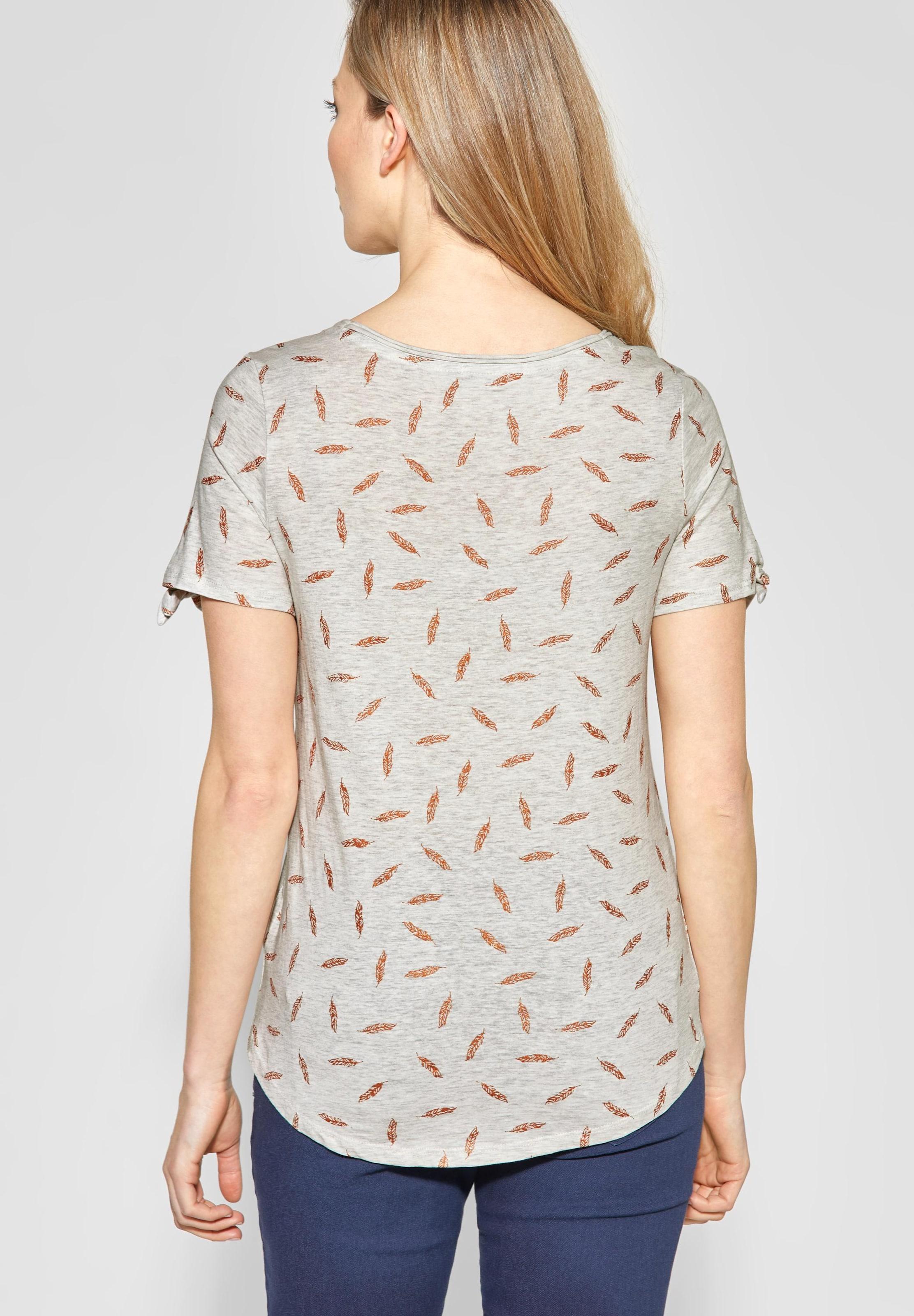 Cecil Shirt BronzeHellgrau Shirt In Cecil Cecil Shirt In BronzeHellgrau In XZiOkPu