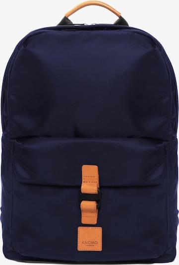 KNOMO Rucksack 'Christowe' in navy / orange, Produktansicht