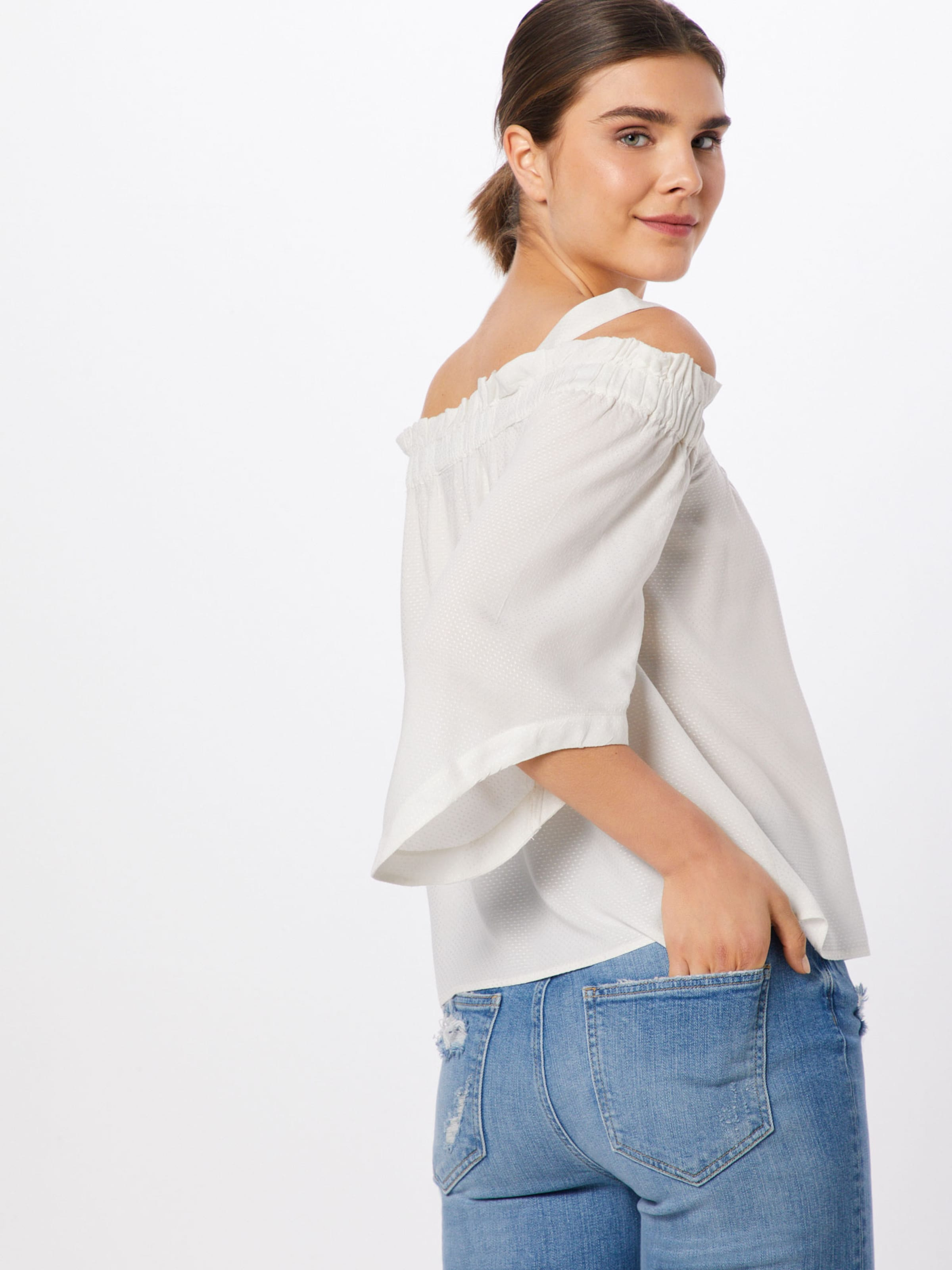 T shirt Noisy May Blanc 'kyla' En AL3Rjc45q