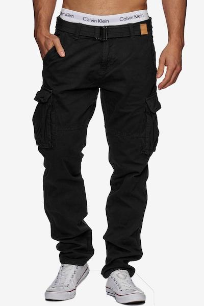 INDICODE JEANS Cargohose 'William' in schwarz, Modelansicht