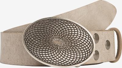 RETTUNGSRING by showroom 019° Ledergürtel in grau, Produktansicht