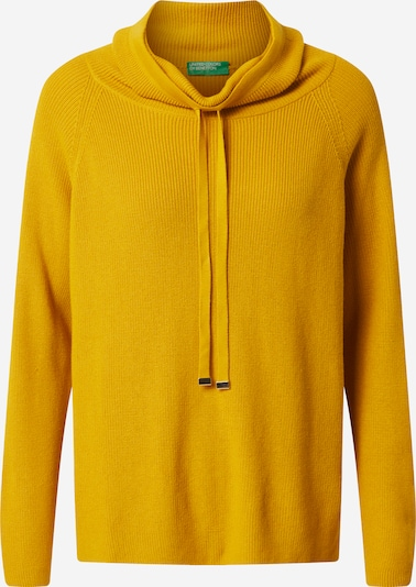 UNITED COLORS OF BENETTON Pullover in gold, Produktansicht