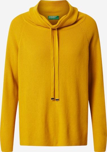 UNITED COLORS OF BENETTON Pulover | zlata barva, Prikaz izdelka