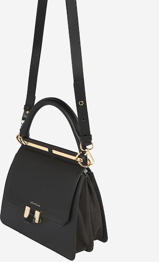 Maison Hēroïne Ročna torbica 'Marlene' | zlata / črna barva, Prikaz izdelka