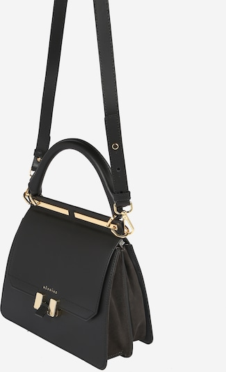 Maison Hēroïne Handtas 'Marlene' in de kleur Goud / Zwart, Productweergave