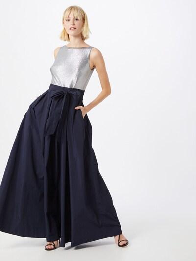 Lauren Ralph Lauren Suknia wieczorowa w kolorze granatowy / szarym: Widok z przodu