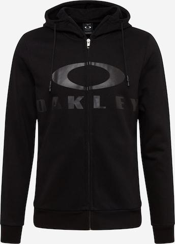 OAKLEY Sportsweatjakke i svart
