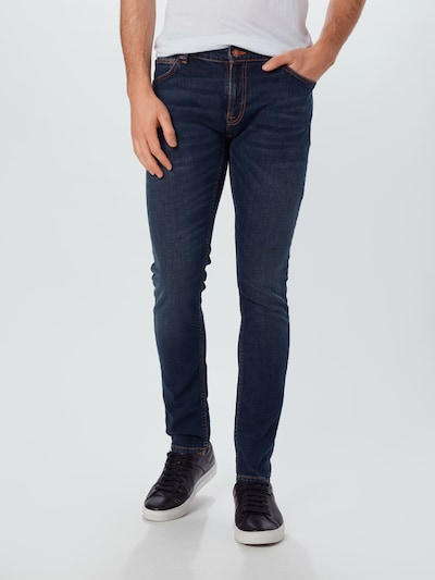 Nudie Jeans Co Jeans 'Skinny Lin' in blue denim, Modelansicht