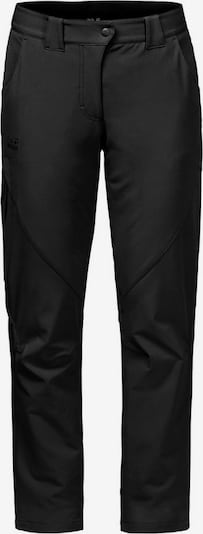 JACK WOLFSKIN Outdoor Pants 'CHILLY' in Black, Item view